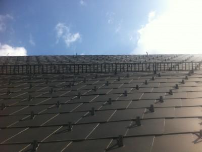 Eternit Dachplattendeckung (Mariazell 2015)