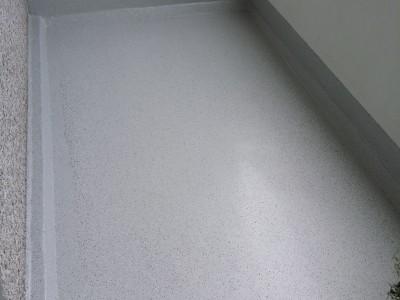 Loggia Sanierung mit Triflex Balkon Abdichtungssystem (Baden 2014)