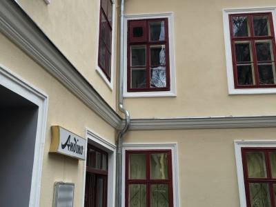 Neuherstellung Fassadenverblechungen inkl. Ablaufrohr (Wien 2015)